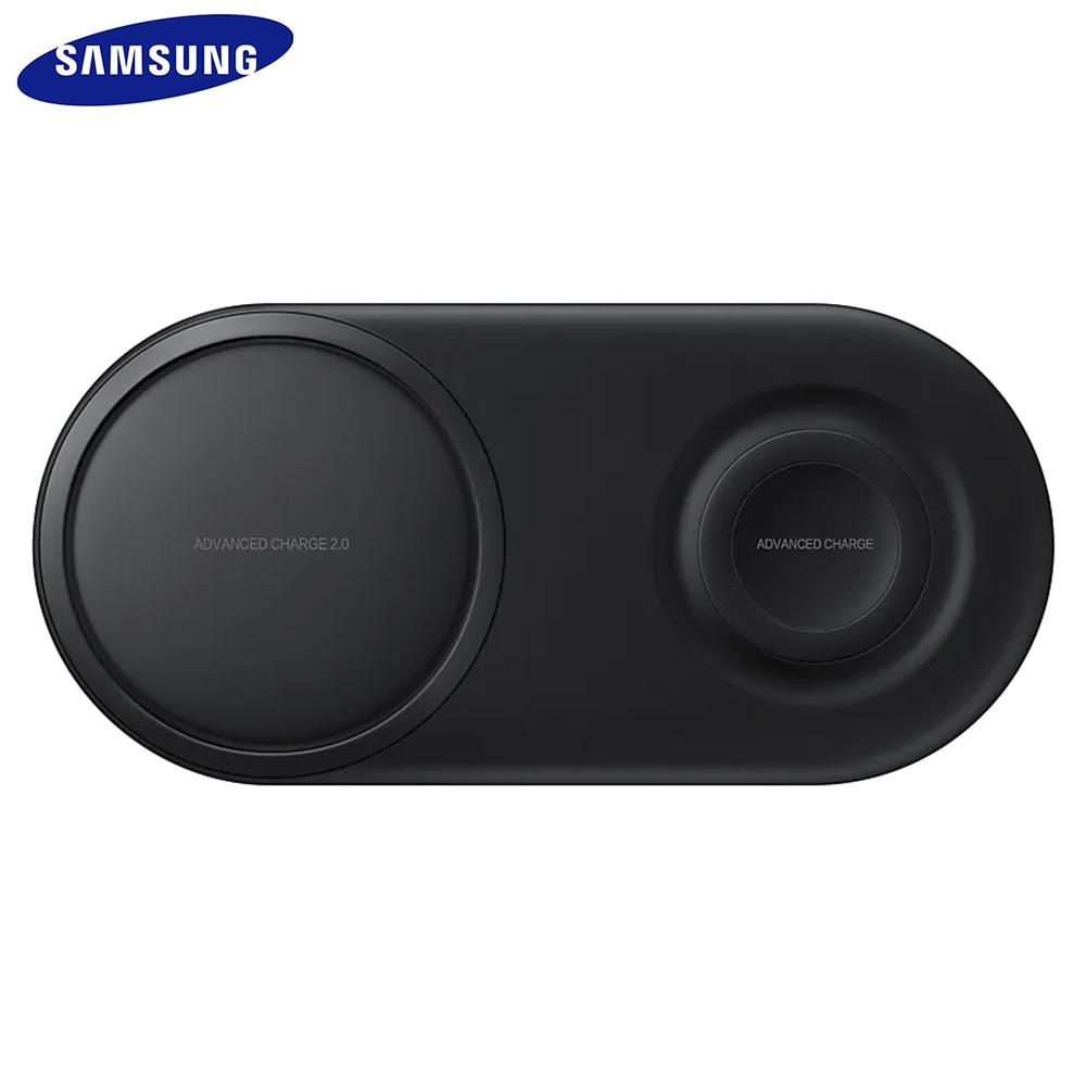 EP-P5200 25 Вт QI Быстрое беспроводное зарядное устройство Duo Pad Быстрая зарядка для samsung Galaxy S7 S8 S9 S10 e Plus Note 8 9 10 gear S2 3