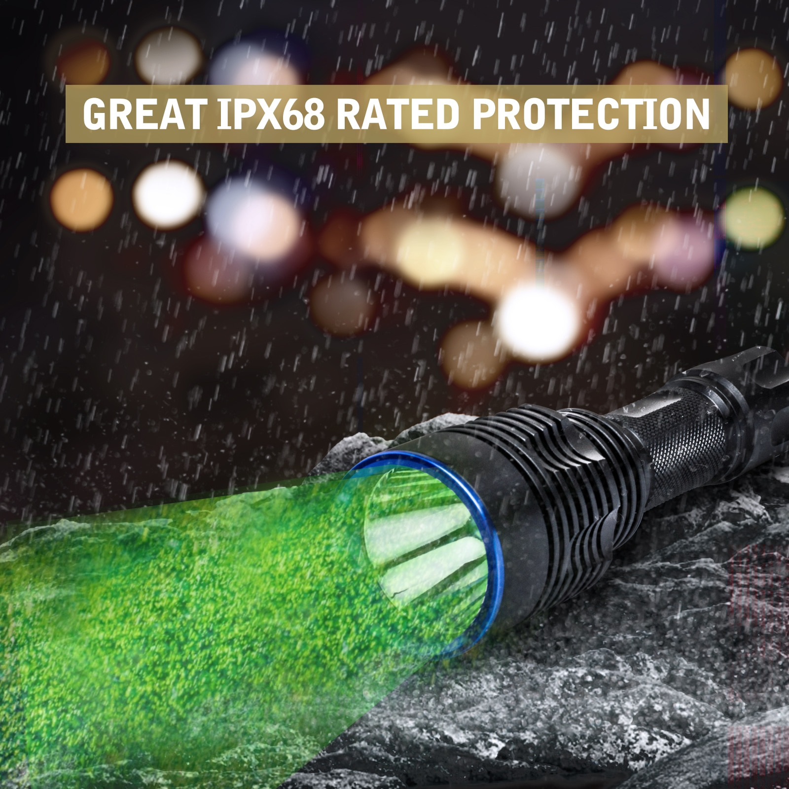 Skywalker Tactical Flashlight 1586 yards green hunting  Weapon lights KP CSLNM1.F1 for long-distance night hunting UC20 enlarge