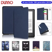 2019 all new kindle case for funda amazon kindle 6 inch kindle cover 10th generation waterproof flip e book shell capa