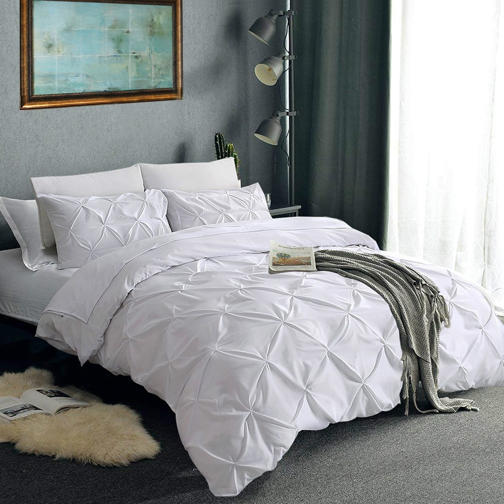 phf yarn dyed duvet cover set lightweight jacquard luxury soft bedding cotton 3 pieces queen size black ivory with corner ties Luxury Egyptian Cotton Bedding Set 3pcs Queen King Size Duvet Cover Set White Modern Premium Soft Duvet Cover and Pillowcase