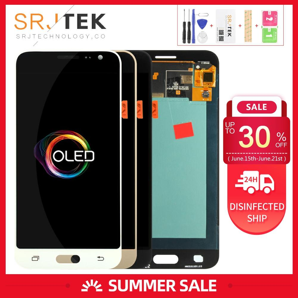OLED 5,0 para Samsung Galaxy J3 PRO LCD pantalla táctil digitalizador pantalla Sensor cristal para Samsung J3110 pantalla J3P J3109 J3119