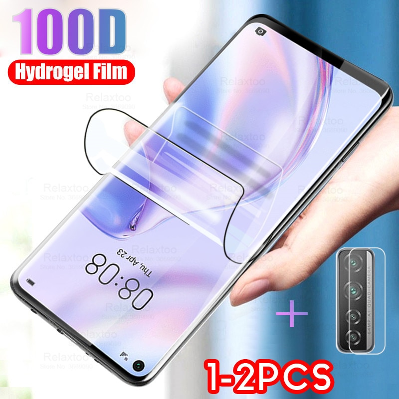 Soft Hydrogel Film Camera Glass For Huawei p40 lite 5g Screen Protector For huawei p40 lite light 40