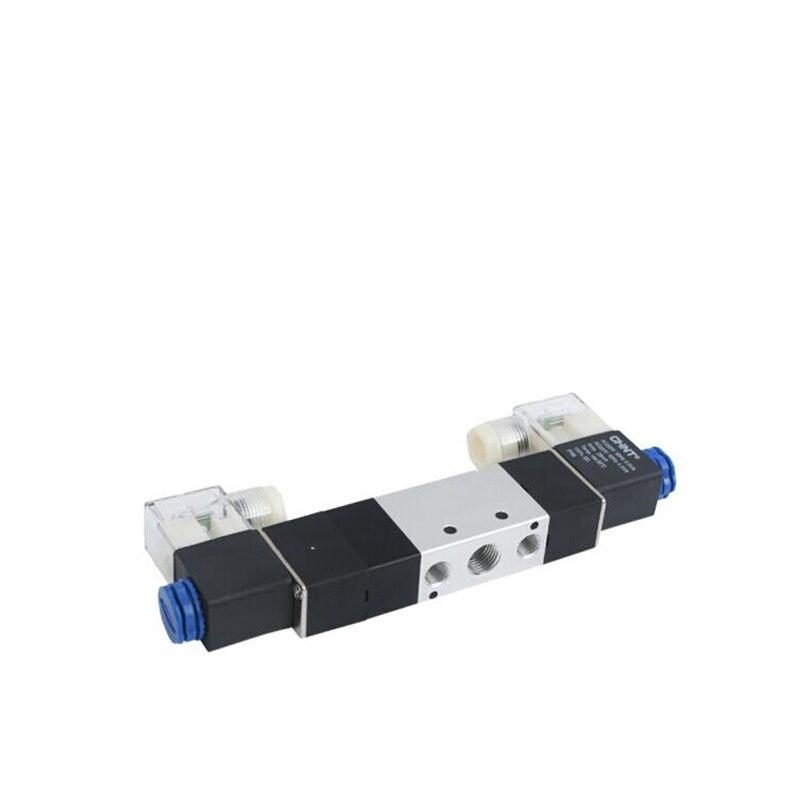 1 unidad Airtac tipo Electroválvula neumática 4V130C-06/4V230C-08/4V330C-10/4V430C-15 de tres posiciones de cinco vías