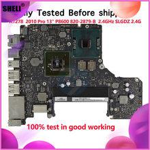 "2.4GHz P8600 Motherboard For Macbook Pro 13"" A1278 Logic Board Mid 2010 EMC 2351 820-2879-B"