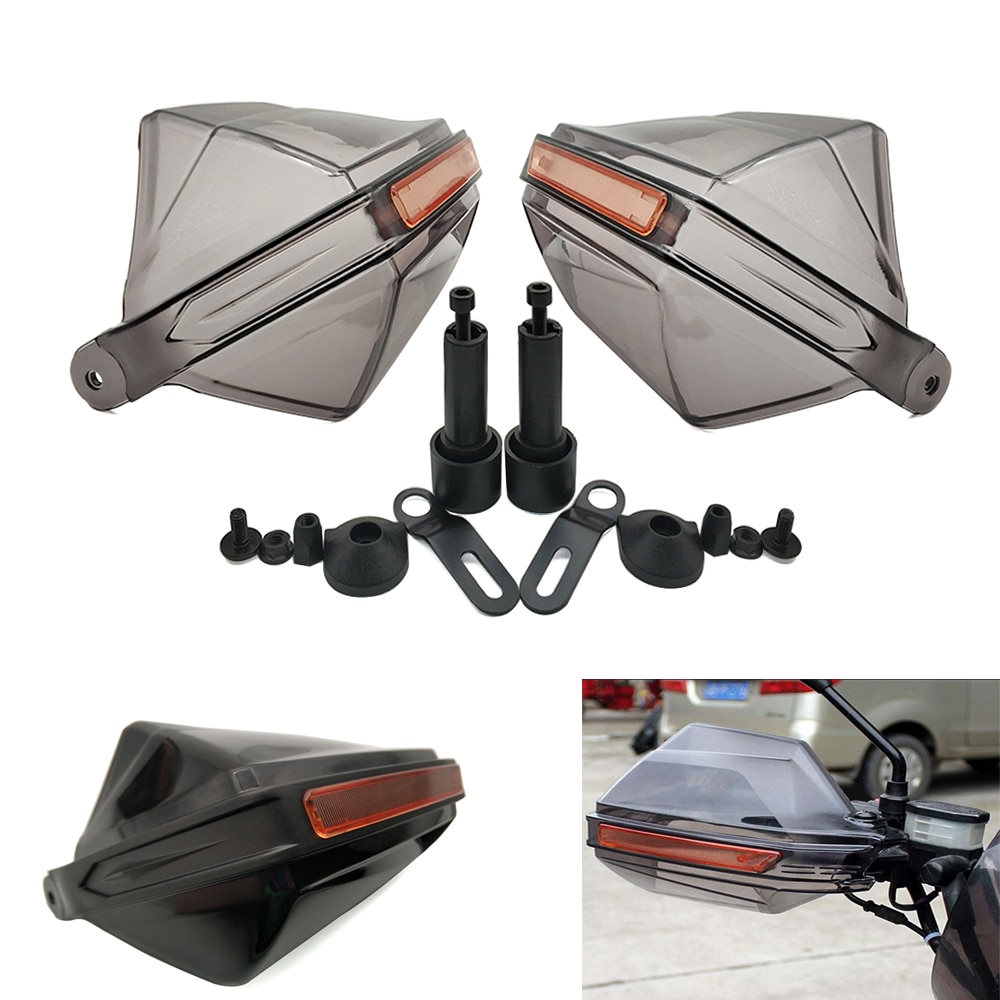 ¡Oferta! 1 par de protectores universales para motocicleta, protectores contra viento para motos Suzuki DRZ400SM DJEBEL dr 250 Yamaha XMAX125