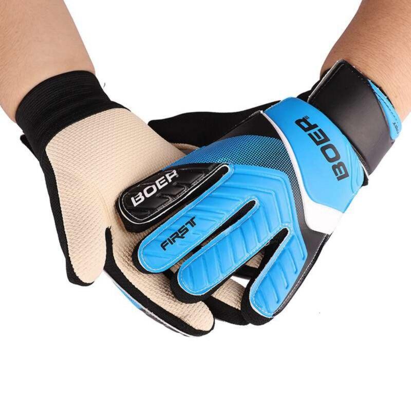 Guantes deportivos para deportes al aire libre para adultos, guantes de fútbol, guantes de portero espesados profesionales antideslizantes, tamaño 8 9 10