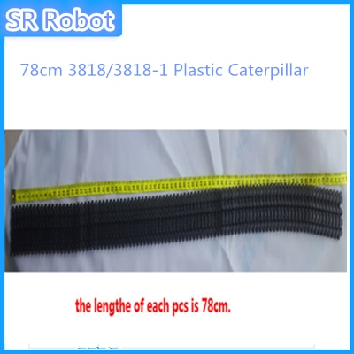 78cm 3818/3818-1 Plastic Caterpillar/Track/Pedrail/Chain To Diy Tank/Tracked Car Wheel Robot Toy Kit Part Accessory For Crawler