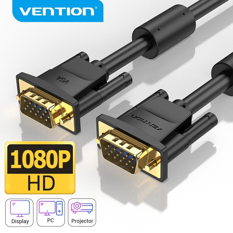 Vención de La VGA Cable macho a macho 1080P 15 Pin 1M...