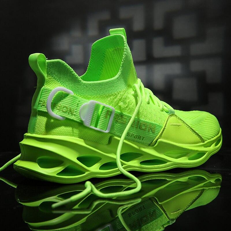 Zapatillas De Deporte transpirables para hombre, calzado deportivo para exteriores, cómodo e...