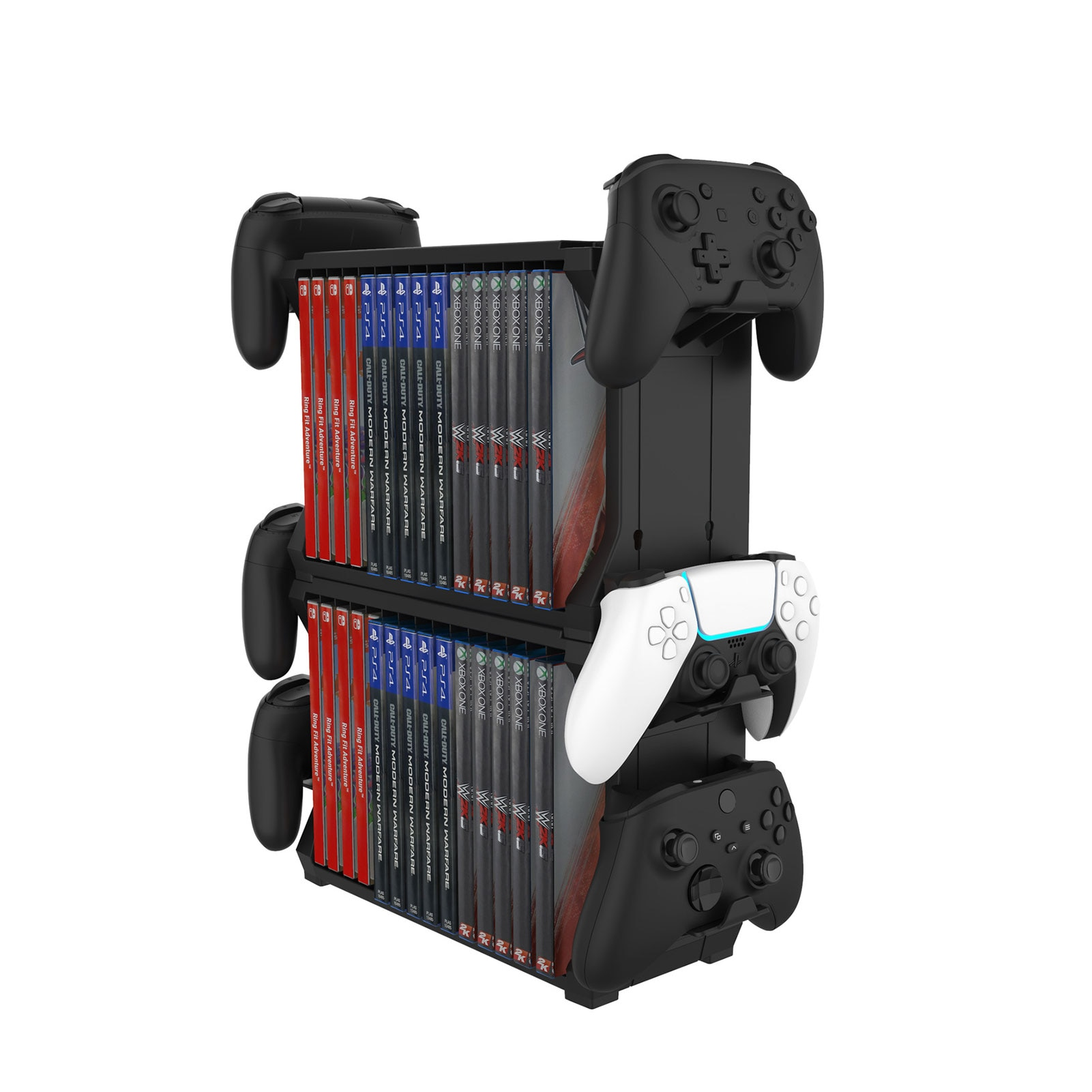 Storage Bracket Holder Tower Carrying Stand Display Shelf Game Accessories For PS5 Nintend Switch NS Joystick Disk Best Service