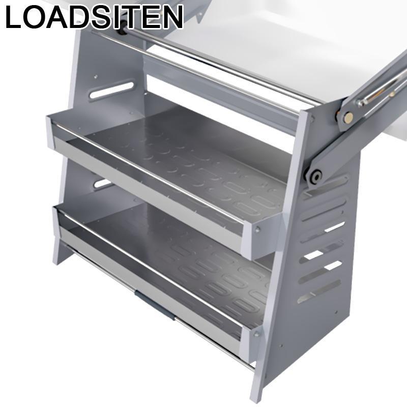 Cosina-رف أطباق متعدد الوظائف ، منظم معلق ، خزانة مطبخ ، سلة