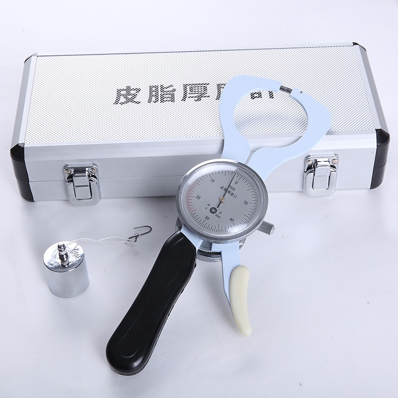 Body Fat Caliper High-precision Measurement of Body Fat Digital Lower Limb Skinfold Caliper Sebum Thickness Meter enlarge