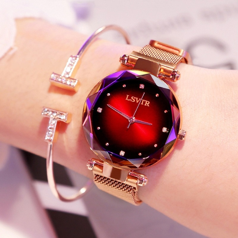 2019 Fashion Luxury Brand Casual hot sale Watch Unisex Crystal Leather Quart Watches women Watch ч�