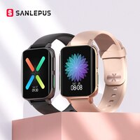 Смарт-часы SANLEPUS 2021 для мужчин и женщин, водонепроницаемые умные часы с MP3 плеером, для OPPO, Android, Apple, Xiaomi, Huawei