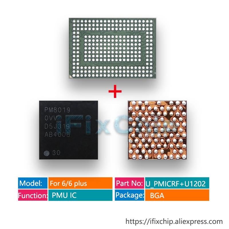10 par/lote grande pmic power 338s1251-az + baseband pmu power ic pm8019 para iphone 6/ 6 plus pm ic chip