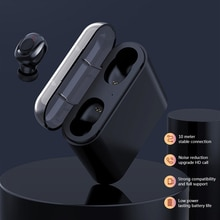 X18 TWS Kopfhörer Touch 5,0 Wasserdichte Mini Wireless Bluetooth Kopfhörer PK Q32 Binaural Call bass ohrhörer bluetooth auriculares bluetooth iphone cascos musica auricular bluetooth iphone