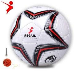 Padrão no.5 profissional bola de futebol bola de futebol original adulto clube competição formação 21.5 cm diâmetro 420g
