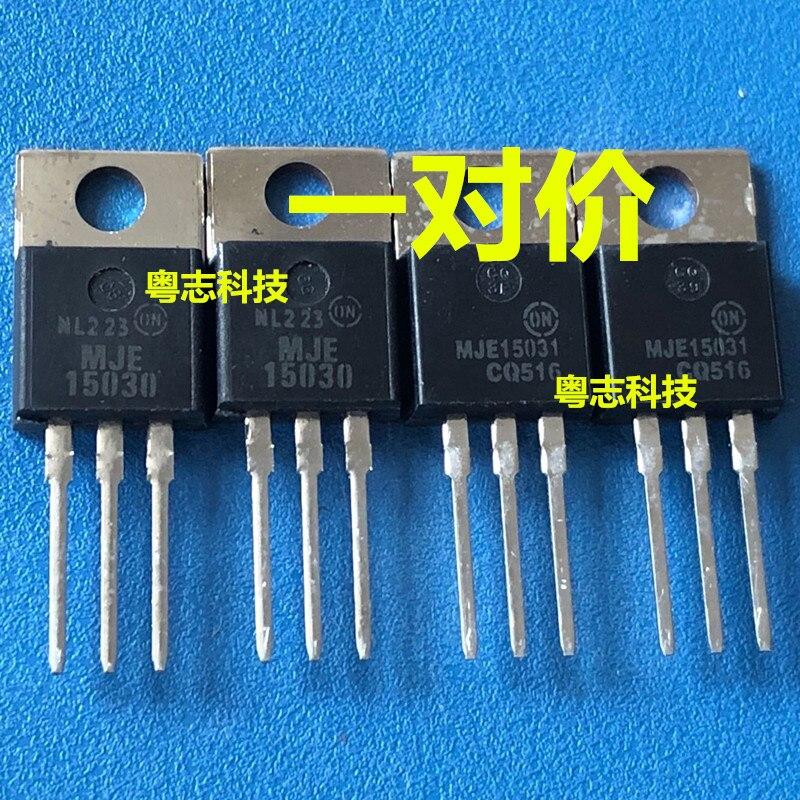 100% Originele Nieuwe In Voorraad MJE15030 MJE15031 MJE15030G MJE15031G