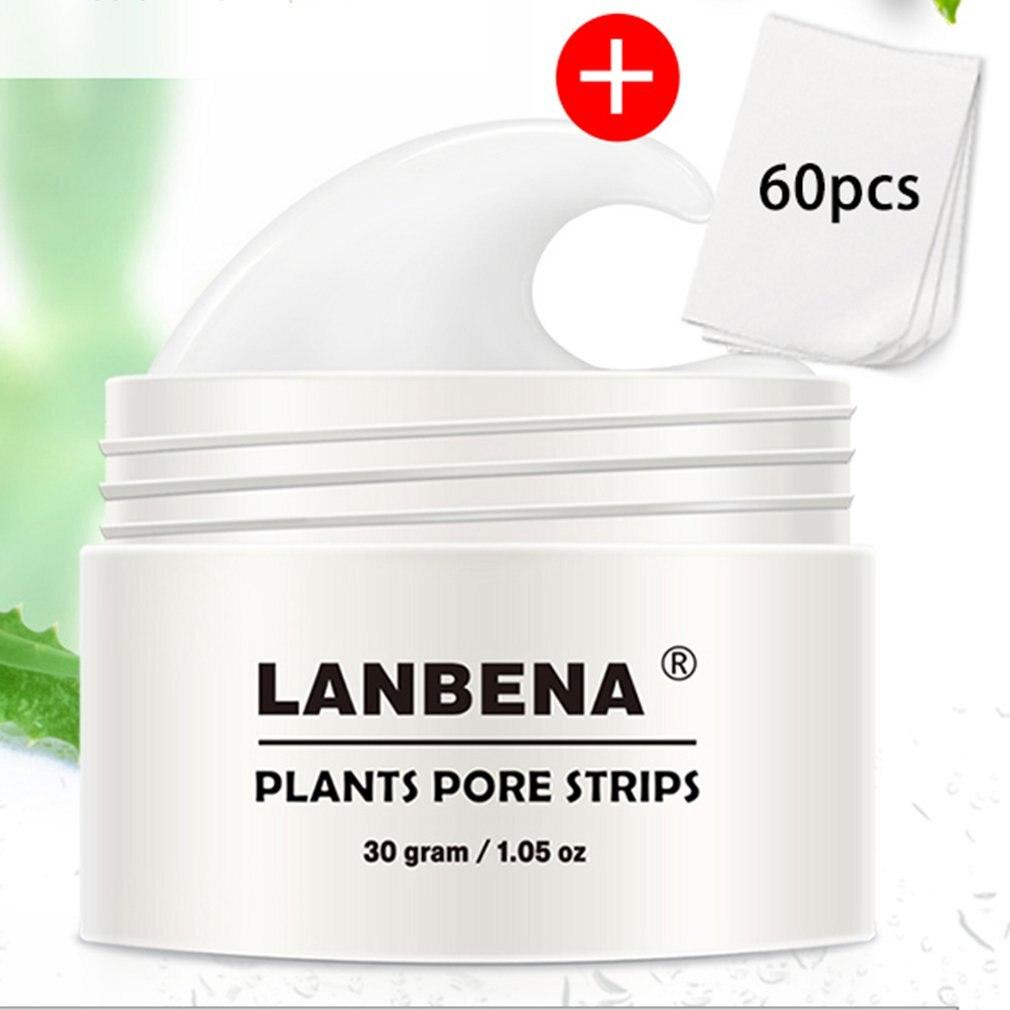 LANBENA Nose Blackhead Remover Pore Band Mask Black Face Mask From Black Dots Acne Exfoliation Treat