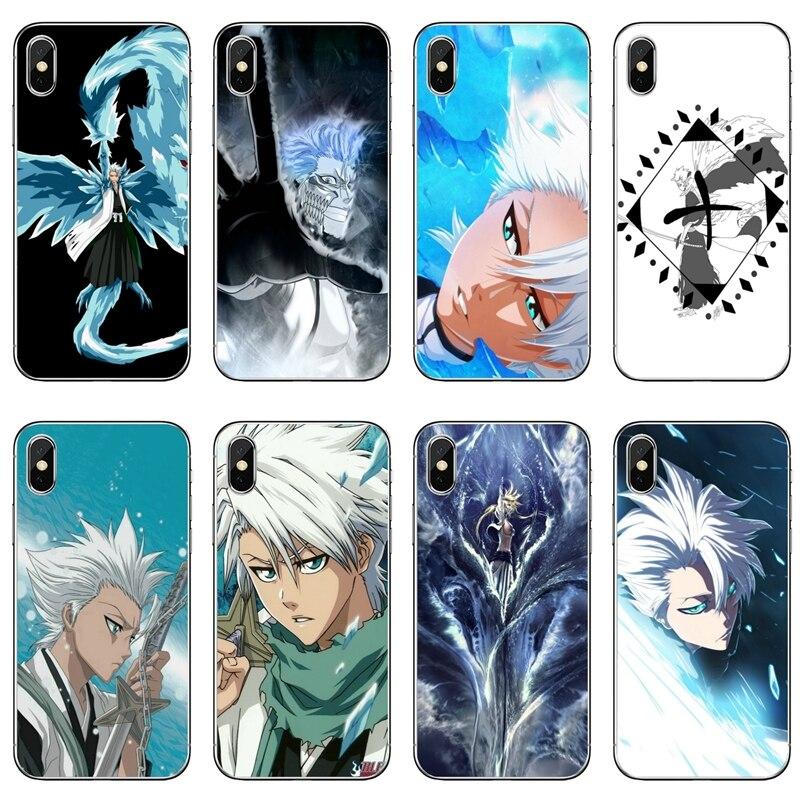 Anime Bleach Toushiro Toshiro telefon Fall Für Samsung Galaxy S10E S10 Lite S9 S8 S7 S6 Rand Plus S5 S4 mini Note 10 9 8 5 4