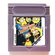 The Simpsons Night of the Living Treehouse of Horror, accesorios de memoria para videojuegos, Cartucho de tarjeta para consola de 16 bits