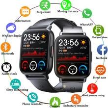 LIGE2021 New Smart Watch Men's Multi-Function Sports IP67 Waterproof Smart Watch Ladies Heart Rate M