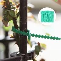 50100pcs garden reusable plastic plant support clamp plant hanging vine garden greenhouse vegetable tomato clamp