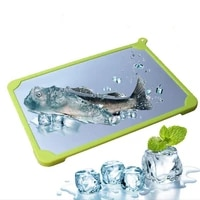 fast defrosting tray professional silicone meat rapid thawing plate thawing board defrost defrosting plate board kitchen gadget