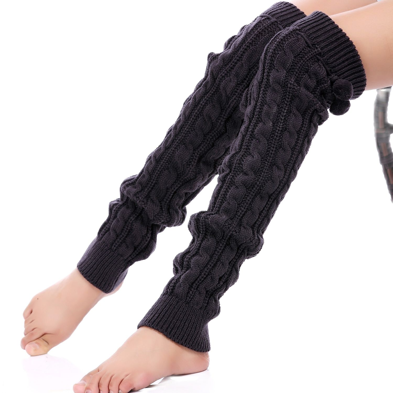 Носки, сапоги, носки, гетры, облегающие носки, спортивные носки, носки, женские танцевальные носки, наколенники, сапоги, теплые вязаные длинн...