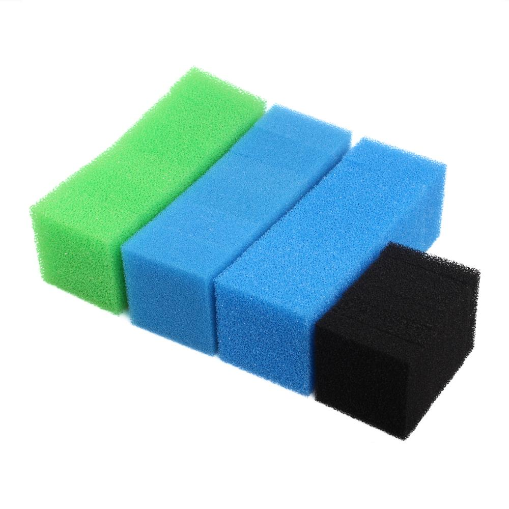 Set of Compatible Aquarium Filter Sponge for Juwel Compact / Bioflow 3.0 (6 x Fine, 6 x Coarse, 6 x Nitrate, 6 x Carbon)