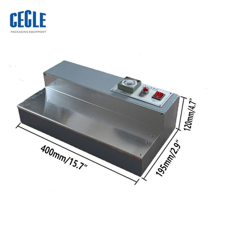 CW-115 manual perfume box cellophane wrapping machine enlarge