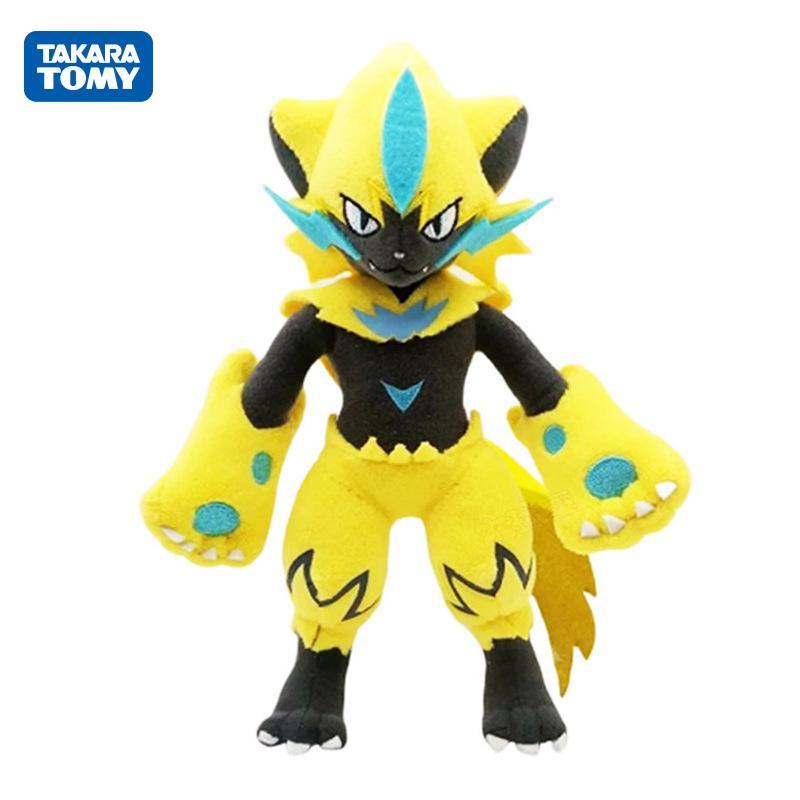 30cm TAKARA TOMY Zeraora Plush Toys Girl Kids Birthday Gift Free shipping
