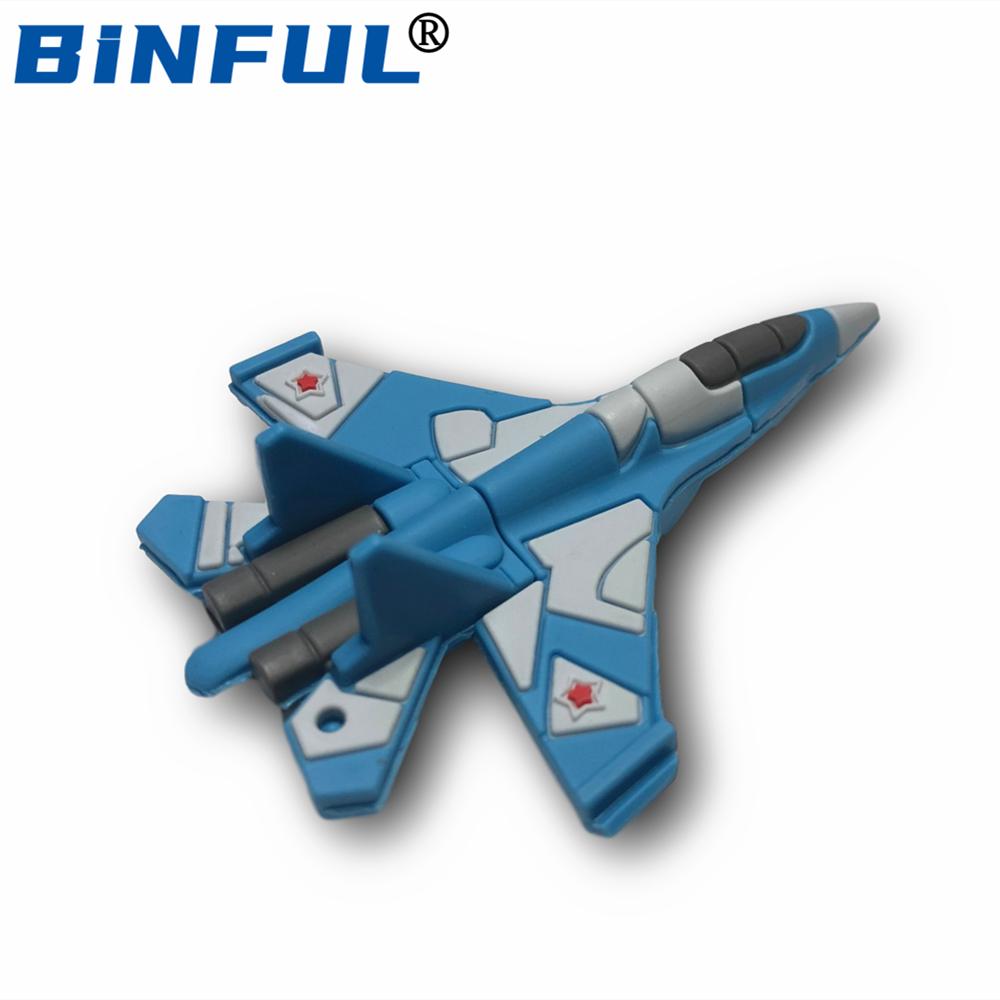 BINFUL Aircraft Usb Flash Drive Plane Pendrive 256GB 4G 8GB 16GB 32G 64GB128GB USB Memory Stick U-Disk Storage
