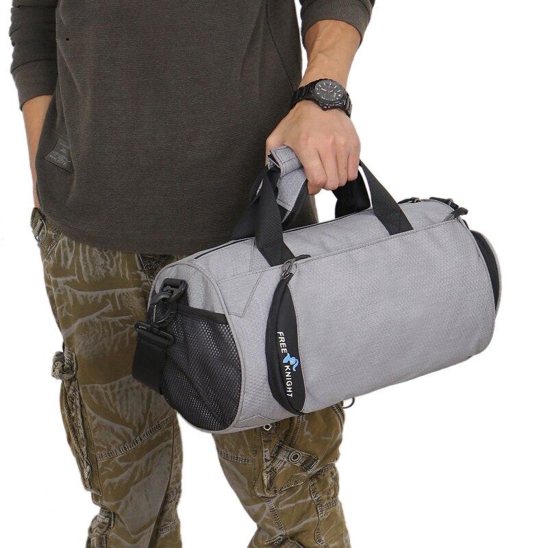 Bolsas deportivas impermeables para gimnasio y bolsas multifunción de separación en seco y húmedo y bolsa de hombro para Yoga y es