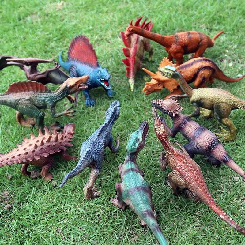 Oenux моделирование сплошной ПВХ динозавр Юрского периода модель фигурку Динозавр мир парк Т-Рекс Птерозавр спинозавр игрушка для детей