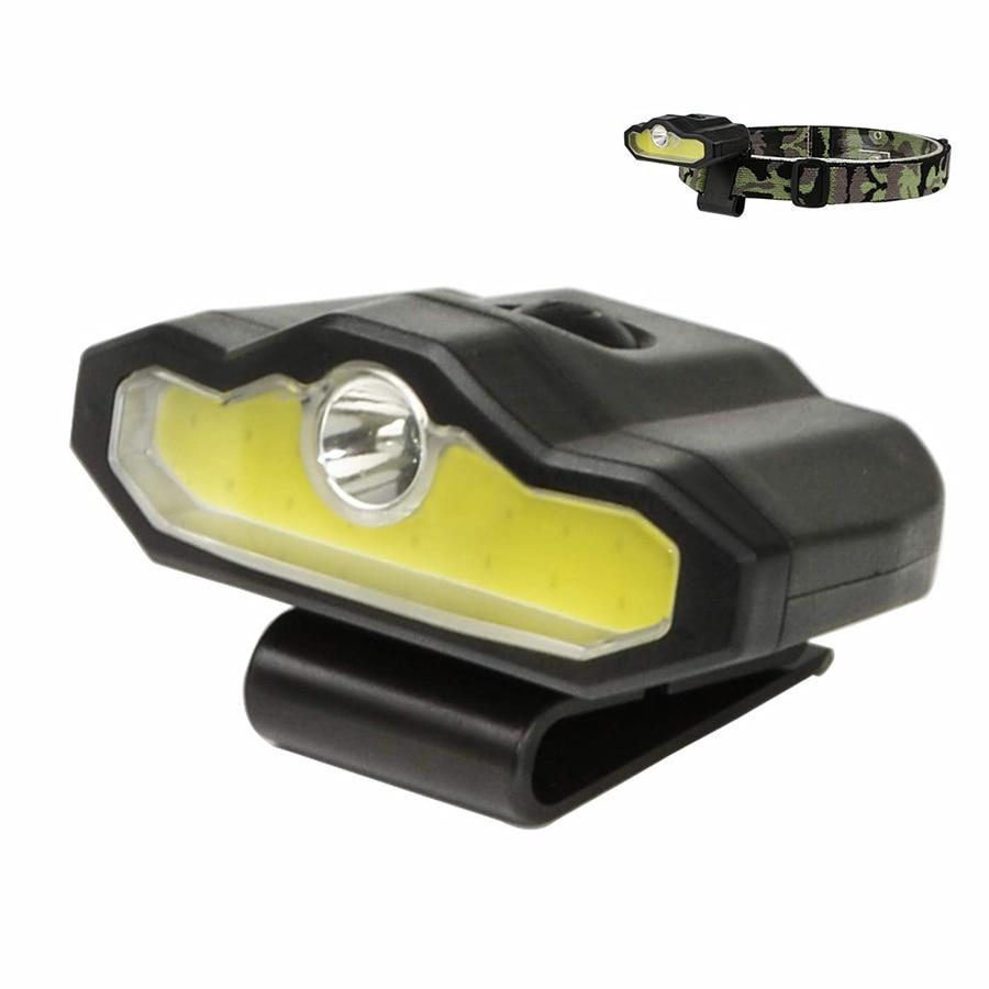 XPE + COB LED Headlamp Cap Light 4 Modes USB Rechargeable Cap Clip Light Hunting Camping Cycling Fishing Head Lamp Lantern