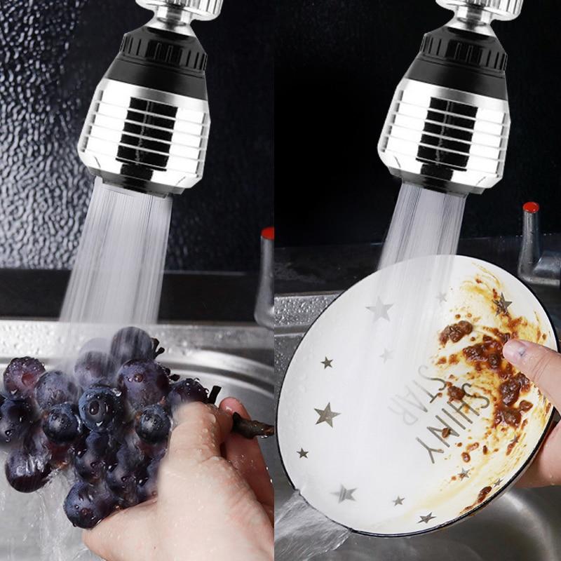3 pçs de alta qualidade giratória filtro misturador aerador torneira da cozinha bico para poupança água torneira da cozinha fixtur bubbler conector