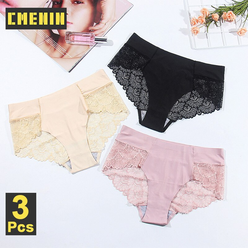 3 pçs sexy calcinha de renda lingerie feminina calcinha para mulher calças xadrez roupa interior íntima das senhoras de biquíni p0098