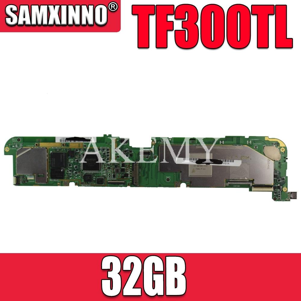 Для Asus Transformer Pad TF300T TF300T TF300TL TF300TG материнская плата TF300T tablet Mianboard W/ 32G SSD системная плата