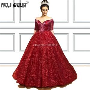 Ball Gown Beading Tassel Prom Dress Vestidos Custom Made Red Muslim Dubai Evening Dresses 2019 Kaftans Saudi Arabic Party Dress