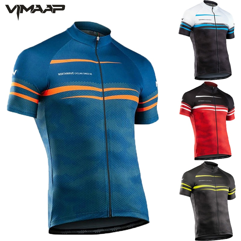 2021 New Pro team Summer cycling jersey Bike Clothing Cycle Bicycle MTB Sports Wear Ropa Ciclismo For men's Mountain Shirts