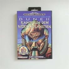 Dune ii 2 arrakis-eur cover for retail box sega megadrive genesis 비디오 게임 콘솔 용 16 비트 md 게임 카드