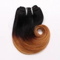 t1b27 brazilian hair body wave 4pcs 8inch 100g brazilian hair weave bundles ombre grey 613 color short weave hair extension