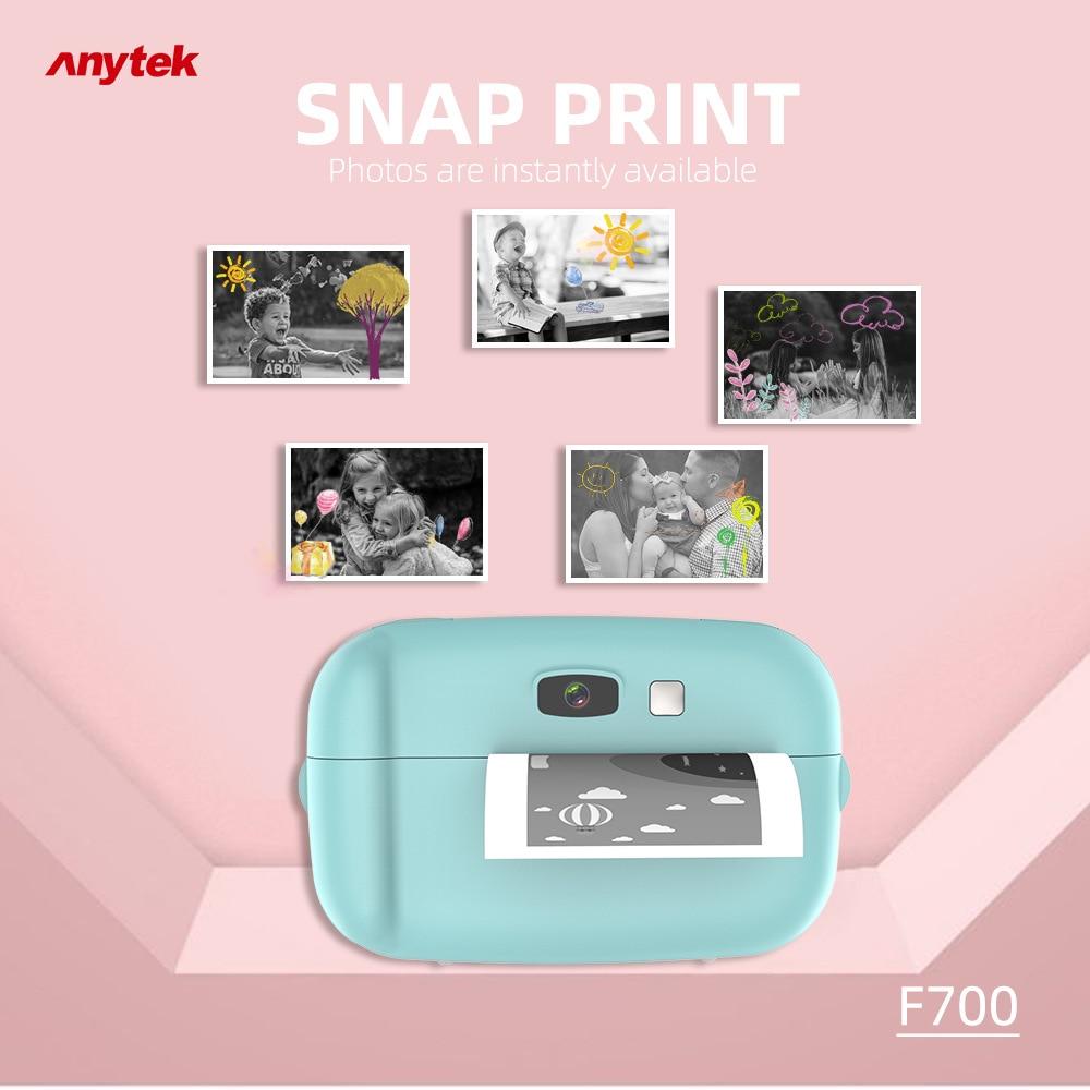 كاميرا بولارويد للصور الفورية F700 للأطفال ، ألعاب صغيرة لكاميرا بولارويد الرقمية الصغيرة SLR كهدية