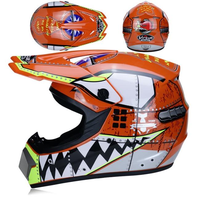 Casco de Motocross todoterreno profesional ATV, casco de Moto de carreras DH,...