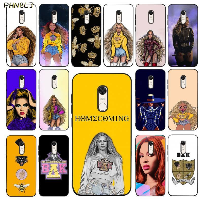 Funda de teléfono de silicona blanda de TPU FHNBLJ Beyoncé HOMECOMING THE LIVE ALBUM para RedMi 5 5plus 6 6pro 6a s2 4x7 7a 8