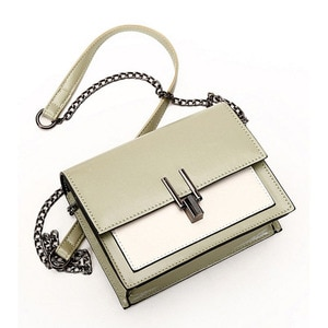 Fashion Small Women's Messenger bags PU Leather Chain Shoulder Strap Shoulder bag Casual Tote Women's Crossbody bags 2020 New