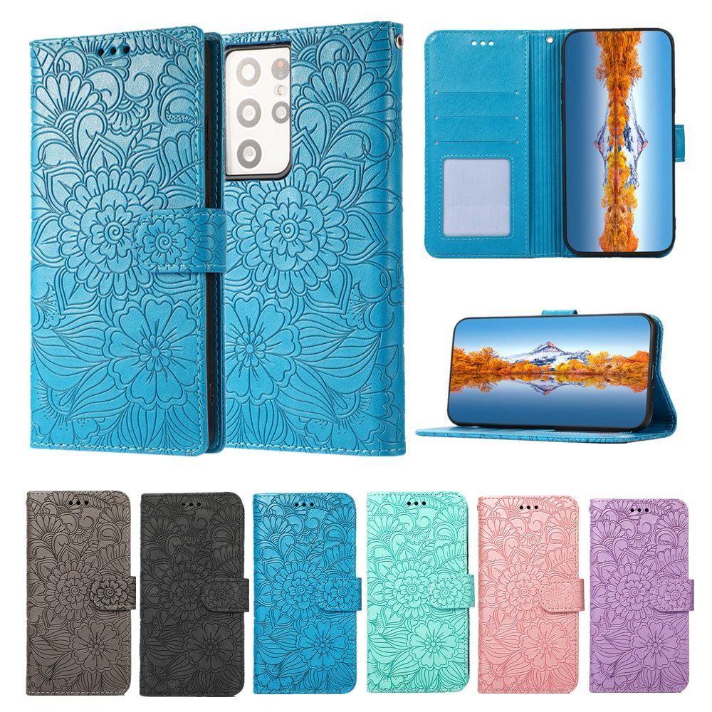 Fashion Wallet Cover for Samsung Galaxy S20 S21 Ultra Note 10 20 S10E S8 S9 Plus Etui Flip Leather Case Shockproof Stand Fundas