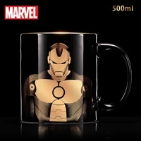 disney marvel series ceramic cup avengers spiderman cup large capacity mug mickey with cover mug coffee mugs ceramic mug