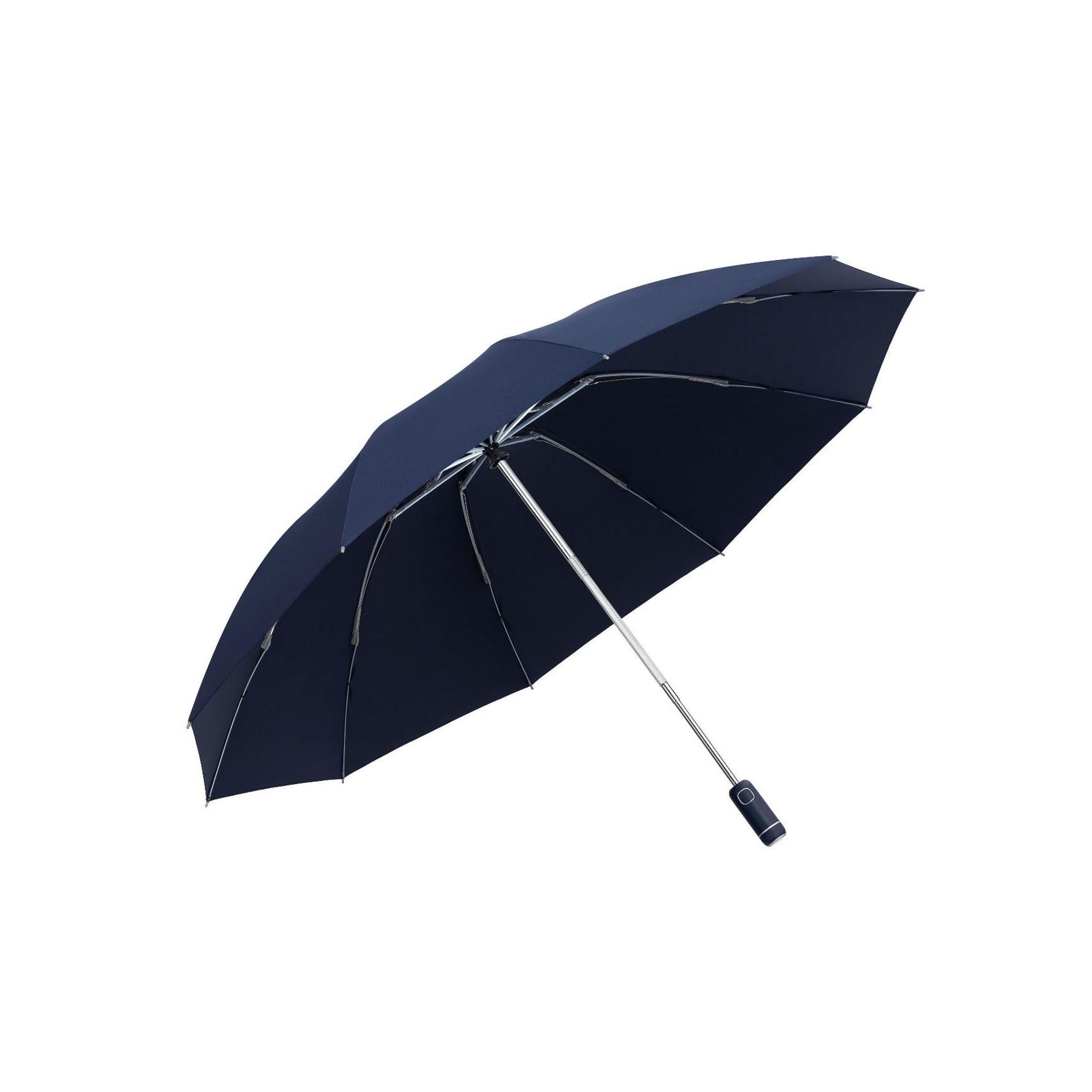 Windproof Women's Umbrella Male Man Automatic Folding Inverted Umbrella With LED Flashlight Reflective Rain Sun Reverse Umbrella enlarge